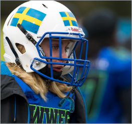 Women's World Football Games | Closeup of player