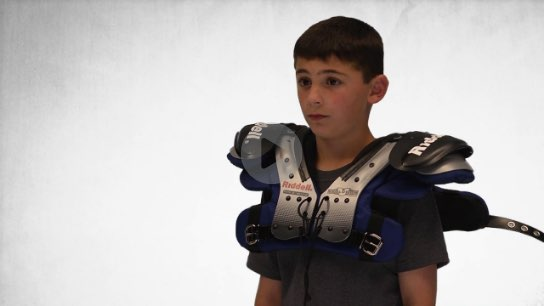 Provide Your Athletes With The Optimal Protection And Comfort Proper Shoulder Pad Ing Watch Video To Learn How What You Need Do Make