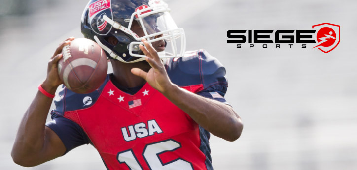 272e5220bdc Custom Designed Uniforms: USA Football works with Siege Sports, the  official uniform provider of the U.S. National Team, to design fully customized  uniforms ...